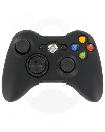 Xbox 360 silikonska prevleka za kontroler, črna