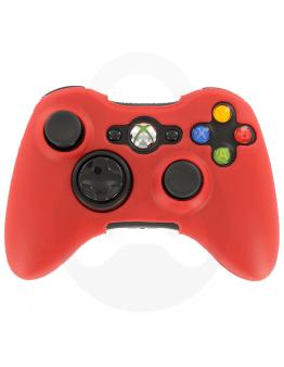 Xbox 360 silikonska prevleka za kontroler, rdeča