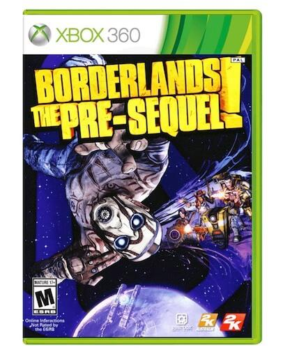 Borderlands The Pre-Sequel (XBOX 360) - Rabljeno