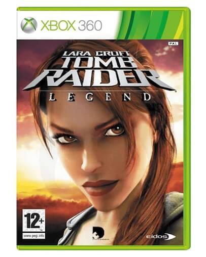 Lara Croft Tomb Raider Legend (XBOX 360) - Rabljeno