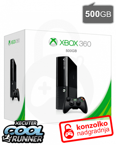 Rabljeno - Xbox 360 Slim 500GB + JTAG/RGH Ultimate