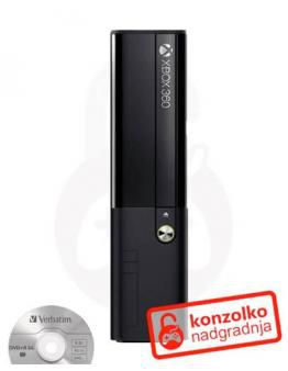 Xbox 360 Slim E iXtreme LT PRO+ v4.0 + Čiščenje + Navodila + 1 leto BREZPLAČNE posodobitve