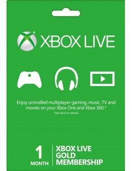 Xbox Live Gold 1 mesec (XBOX ONE | XBOX 360)