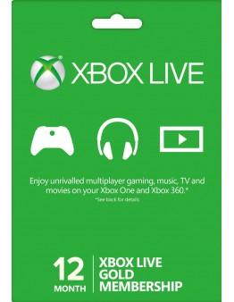 Xbox Live Gold 12 mesecev (XBOX ONE | XBOX 360)