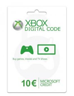 Microsoft Xbox predplačniška kartica 10 EUR (Xbox Live Gift Card)