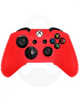 Xbox One silikonska prevleka za kontroler, rdeča