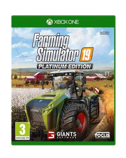 Farming Simulator 19 Platinum Edition (XBOX ONE)
