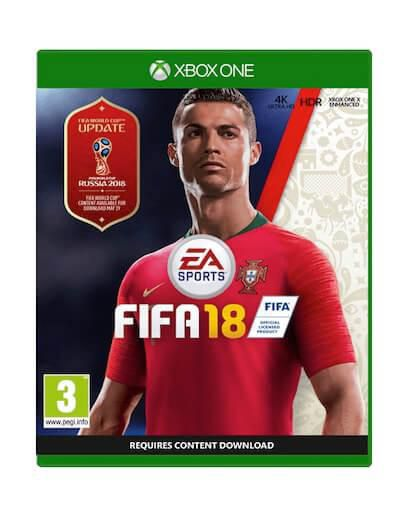 FIFA 18 + World Cup Russia (XBOX ONE)