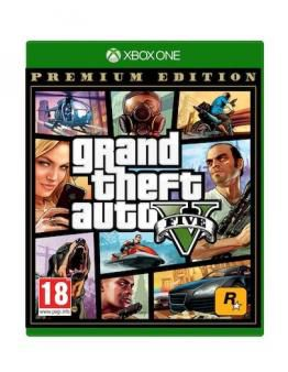 Grand Theft Auto 5 Premium Edition - GTA V (XBOX ONE)