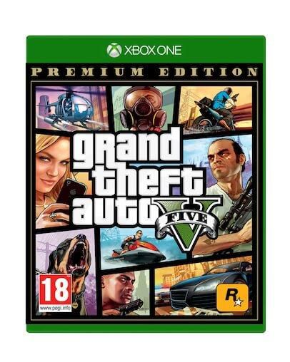 Grand Theft Auto V Premium Edition - GTA 5 (XBOX ONE)