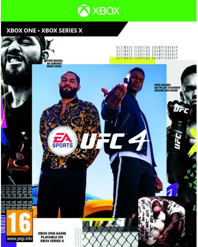 UFC 4 (XBOX ONE) - Rabljeno