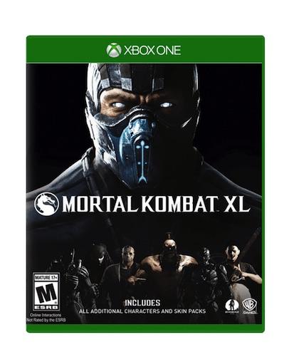 Mortal Kombat XL (XBOX ONE) - Rabljeno