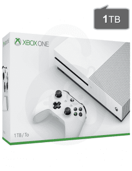 Xbox One S (slim) 1TB + Game Pass + Xbox Live Gold
