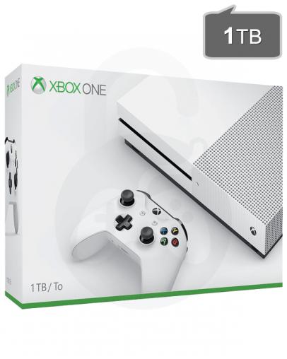 Xbox One S (slim) 1TB + Game Pass + Xbox Live Gold
