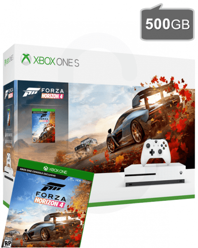 Xbox One S (slim) 500GB + Forza Horizon 4