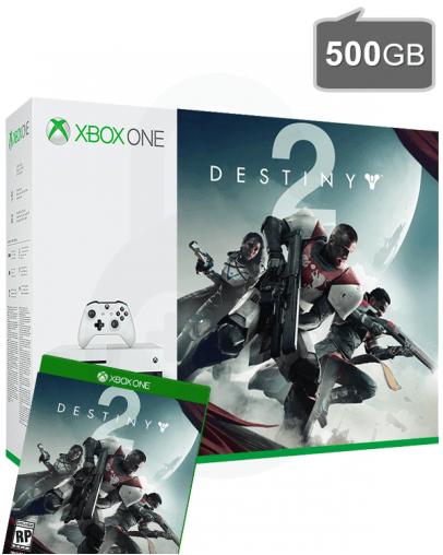 Xbox One S (slim) 500GB + Destiny 2