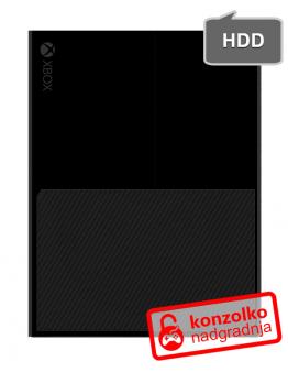 Xbox One nadgradnja trdega diska na 1000GB