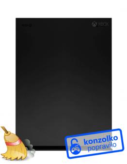 Xbox One X Temeljito Čiščenje + Menjava Termalne Paste