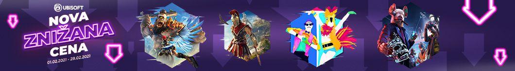 Ubisoft znižane cene iger