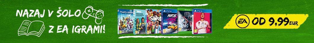 EA znižane cene iger